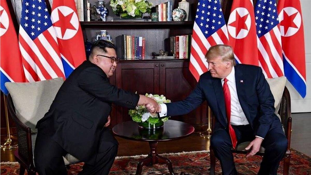 川金會登場前一週  川普提起放寬對北韓制裁可能