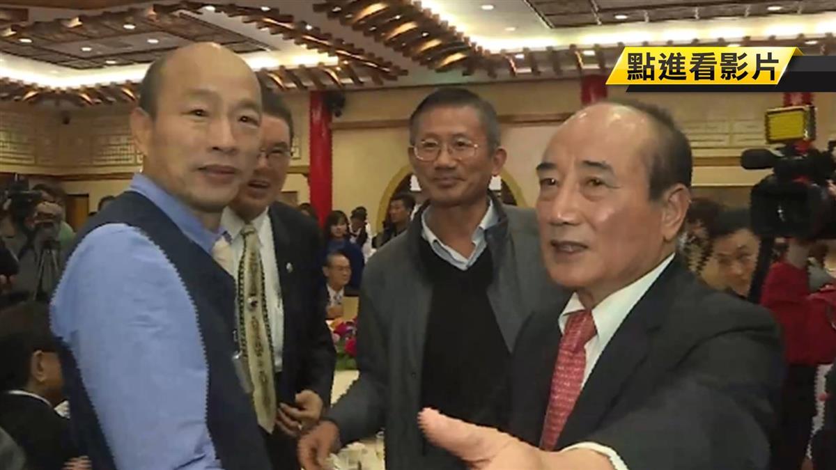 鼓勵韓國瑜選總統?王金平:自然就是美