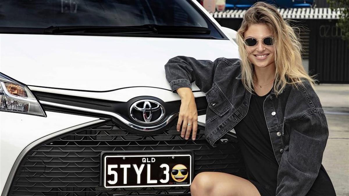 駕駛可在車牌加表情符號! 澳洲昆士蘭省3月起實施