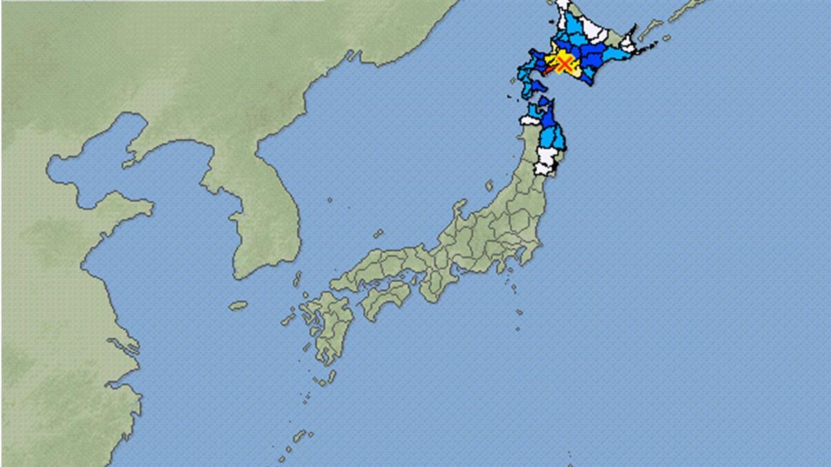 北海道地震規模上修至5.8 札幌大搖晃