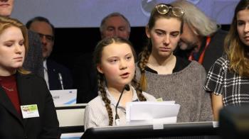抗氣候變遷 16歲瑞典女孩批政治人物不作為