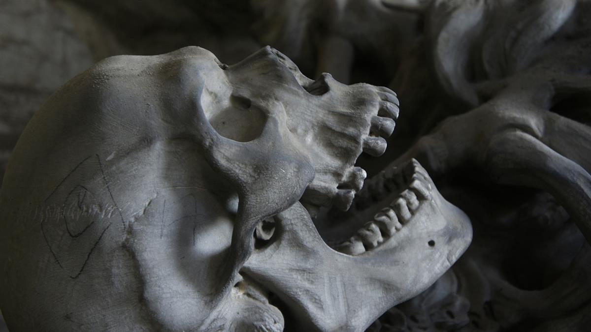 獨居男病死 警破門驚見人骨堆疊…一算竟有500具!