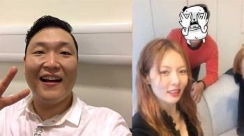 江南大叔PSY爆瘦一圈 模樣超誇張!粉絲:臉比炫雅小