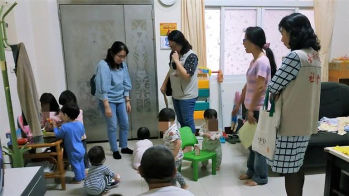 誇張!無照收托12名幼兒 台南母女被查獲開罰