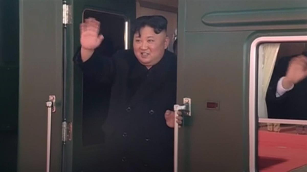 北韓官媒證實 金正恩啟程前往越南出席峰會