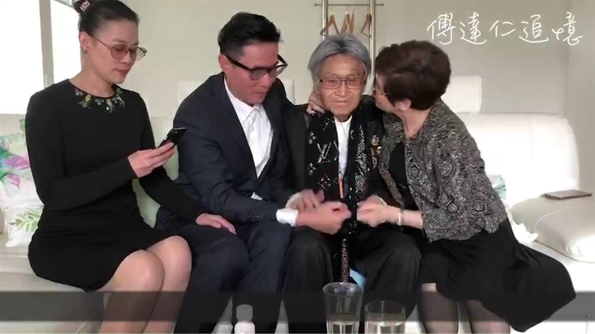 傅達仁飲藥安樂死…臨終畫面首曝光!兒淚崩:每看必哭