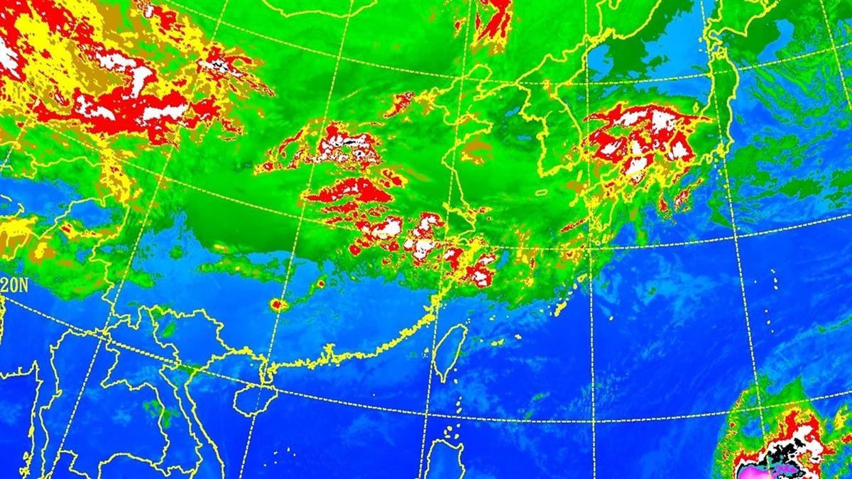 2波冷空氣攪局「3天濕涼」!一張圖秒懂228連假天氣