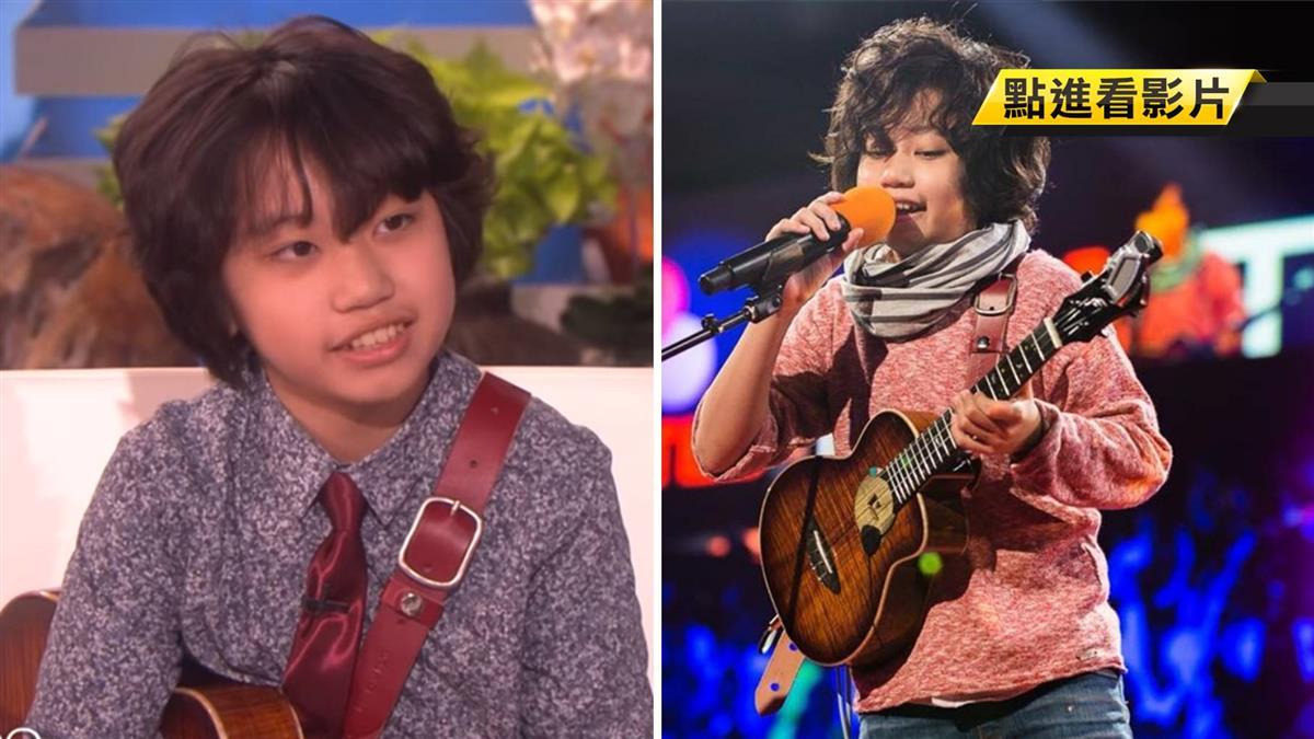 12歲烏克麗麗神童再登《艾倫秀》創紀錄!獲10萬大禮