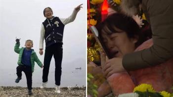 肉身擋火!12歲姊緊抱5歲弟被燒死 父淚崩:不聽話…