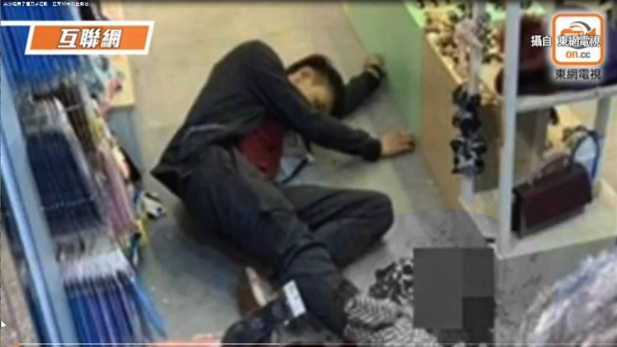 香港尖沙咀當街砍人 泰拳高手遭斷腳