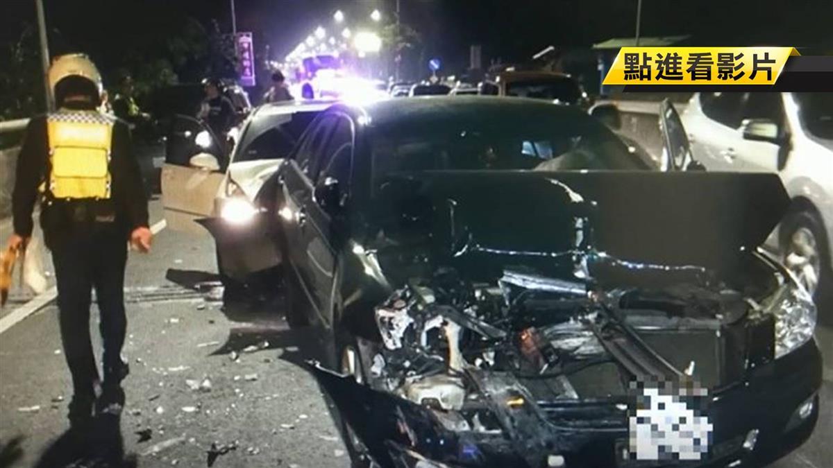 曾控「新店戰神」違法搜索 男疑毒駕撞3車還毆警