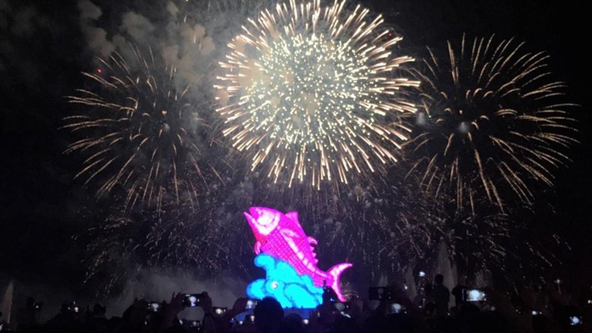 史上最美台灣燈會閉幕 明年台中市接辦