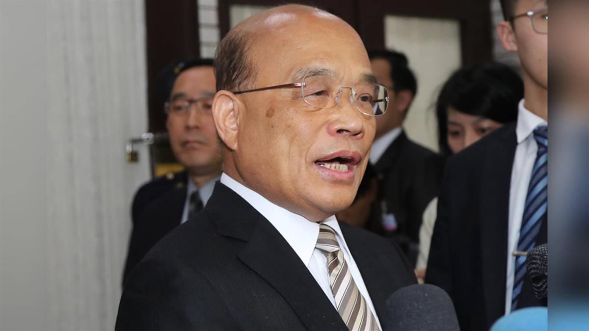 同婚專法立院闖關 蘇揆提4希望讓台灣向前走