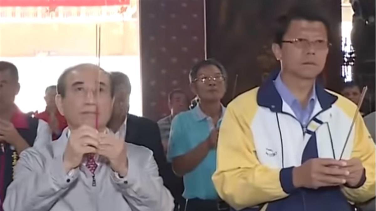 台南市立委補選 王金平南下挺謝龍介