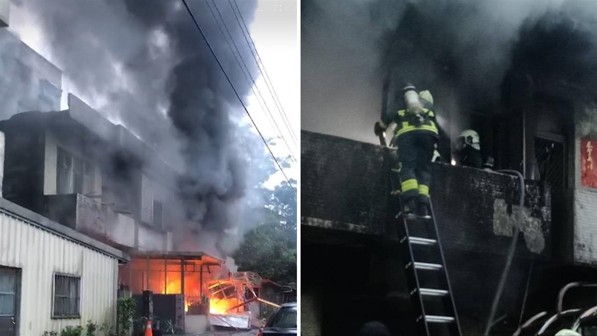 宜蘭民宅氣爆竄惡火!一家3口葬火場
