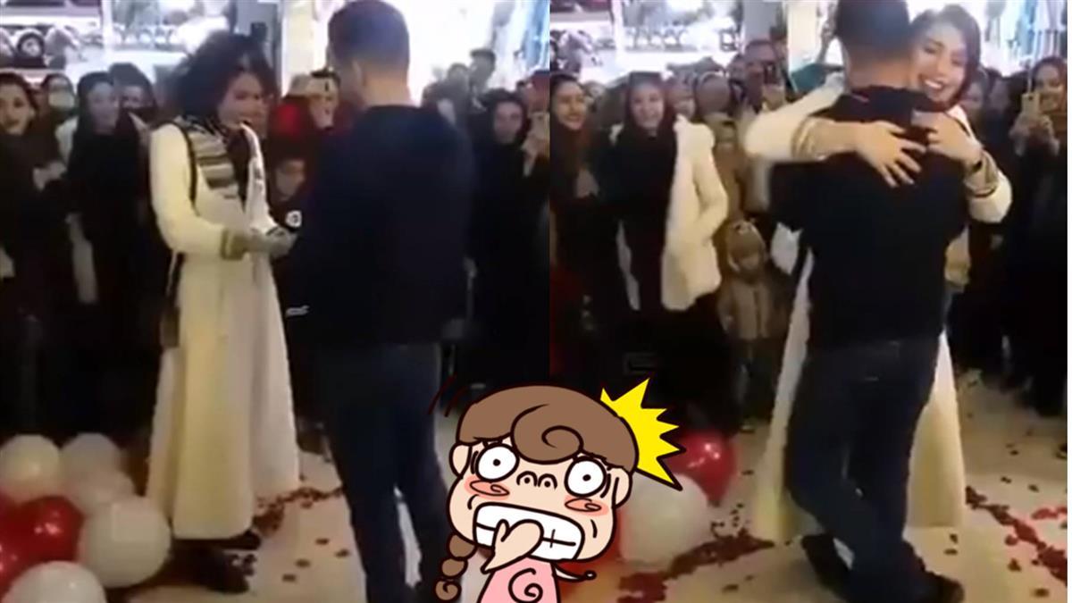 浪漫求婚竟違法!準新人下秒慘被逮捕