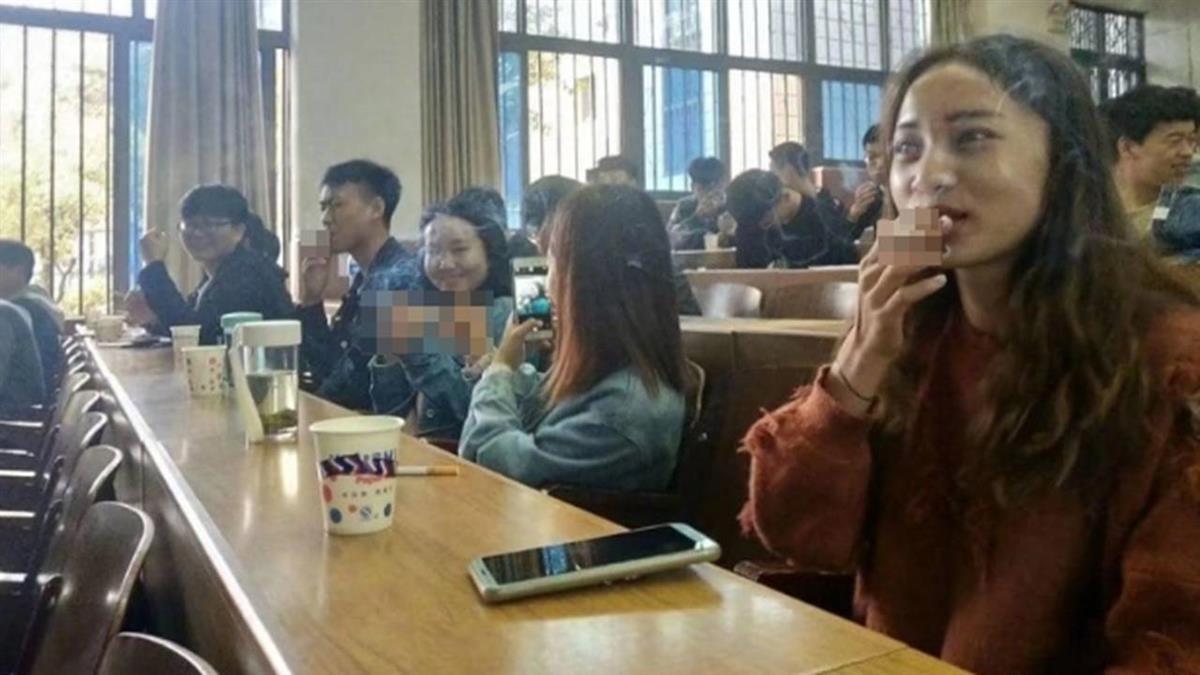 教室煙霧繚繞!學生集體抽菸 驚人真相曝光