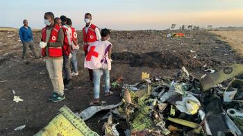 聯合國21人員衣航空難喪生 紐約總部降半旗致哀
