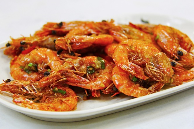 Fried Prawn, Prawn, Seafood, Lunch, Dinner, Yummy