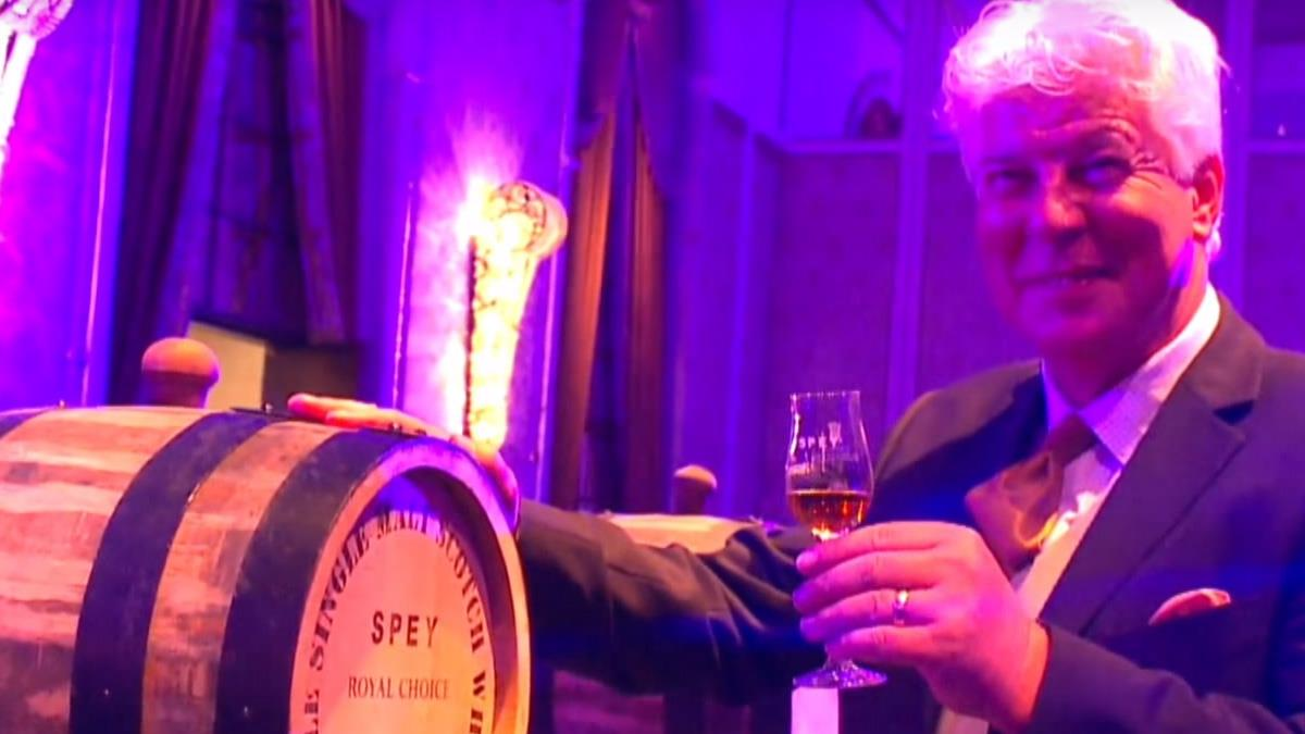 高球賽結合皇室御廚 威士忌品牌高端饗宴
