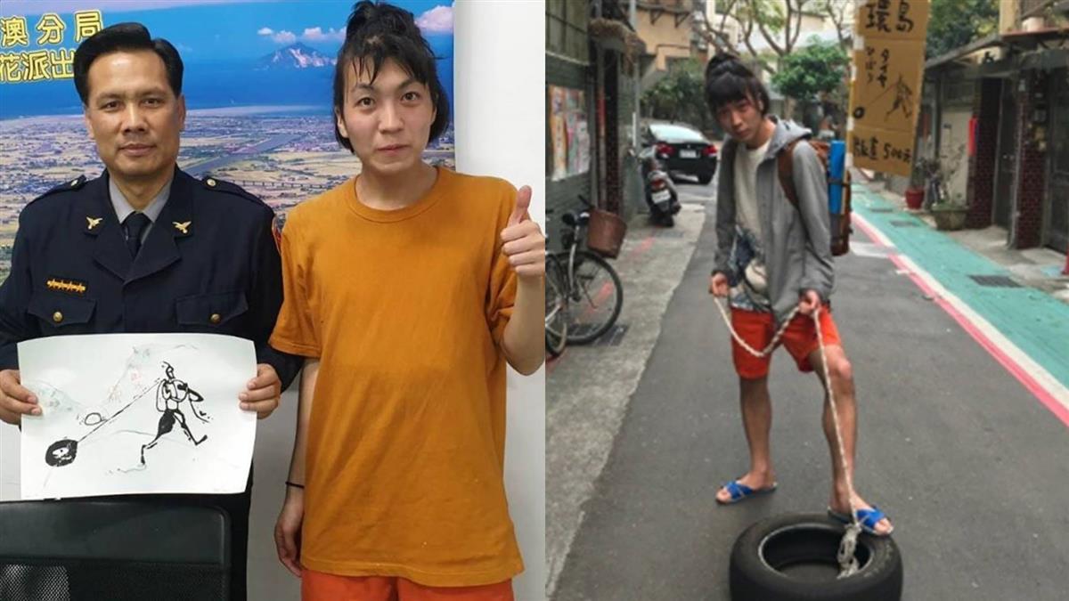 日本版畫家0元來台環島 他驚爆:故意沒帶錢