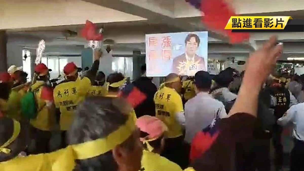 不滿房屋稅續漲81% 房衫軍衝南市府抗議