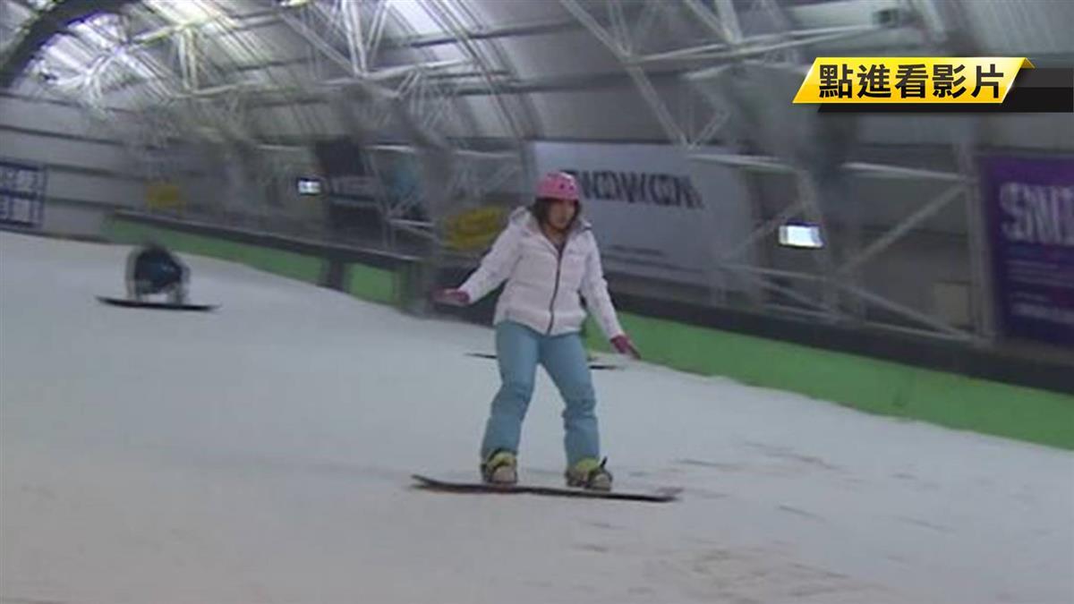 全台唯一滑雪課!科大學生飛日 滑雪換學分