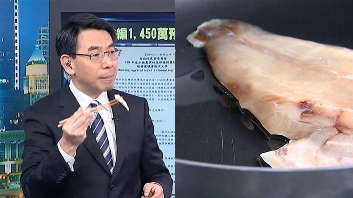 劉寶傑大啖在地美食 讚:台灣農特產非常厲害