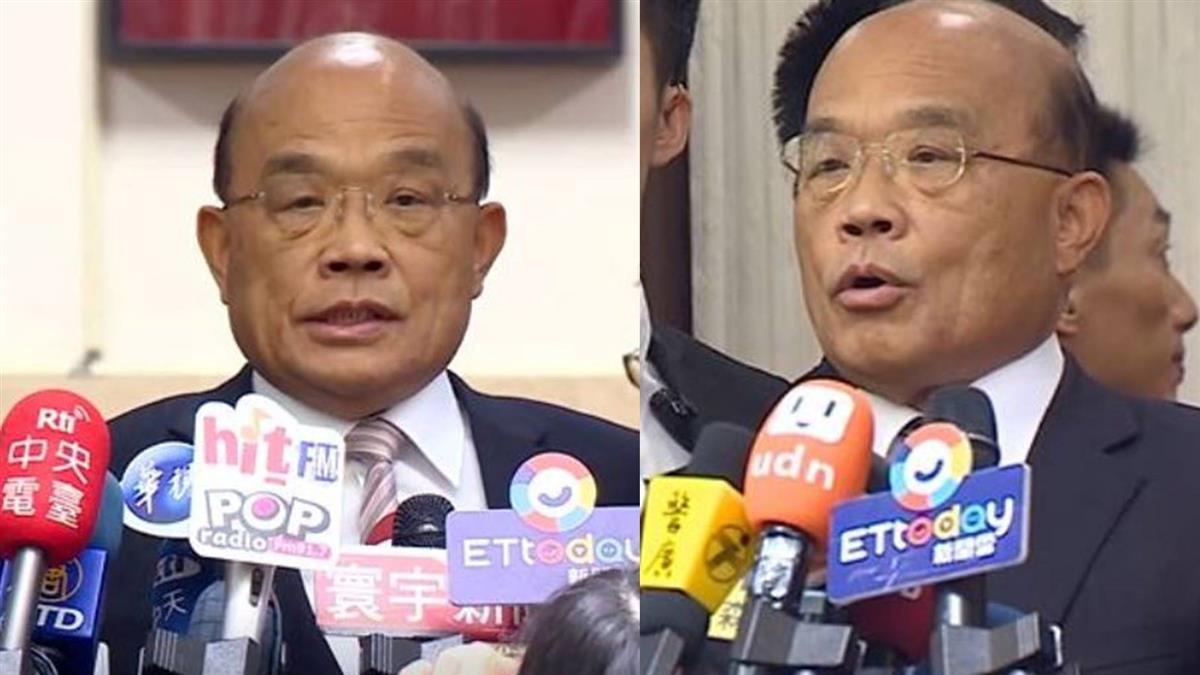 蘇貞昌:全力投入工作 不評論立委補選