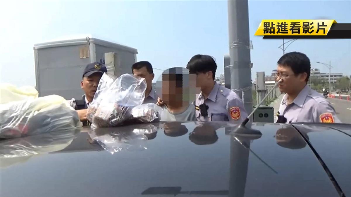毒咖啡包近百份擺車上 男違停昏睡遭警逮
