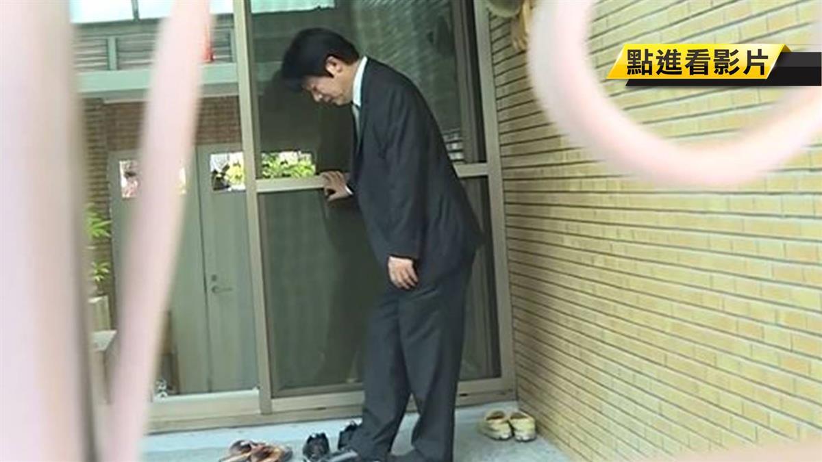 領表參選後回台南老家 賴清德:心裡踏實了