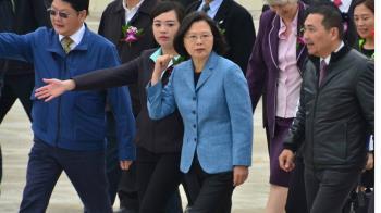 爭取連任 蔡總統:國家政務是第一優先