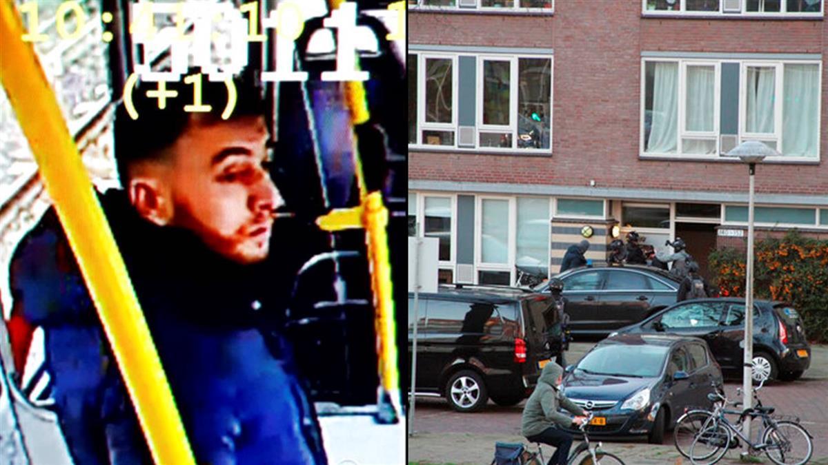 荷蘭槍擊案逮新嫌 起出可疑信件不排除恐攻