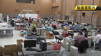 韓市長辦公室遷鳳山 海洋局上百同仁擠禮堂辦公