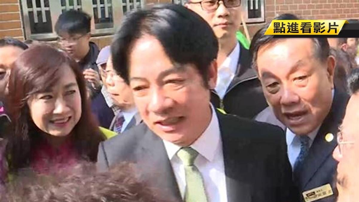 謝龍介預言「蔡賴配」成定局 整合聲勢抗韓