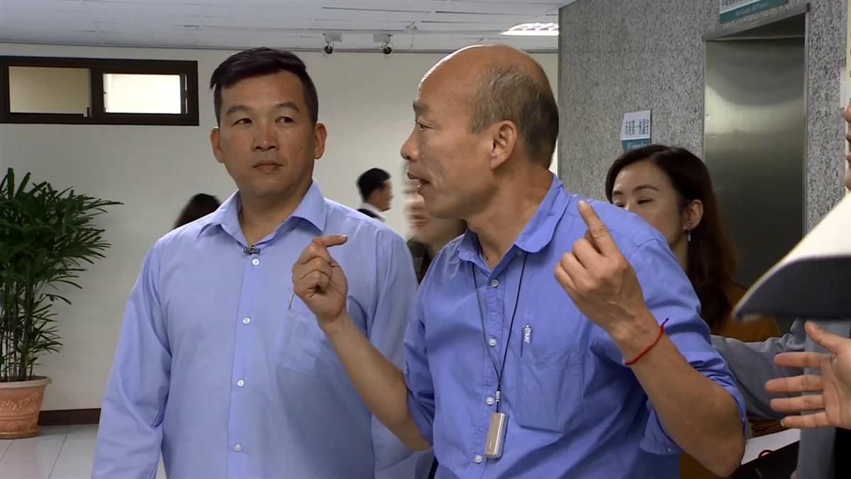 港媒專訪韓國瑜 選總統?沒否認