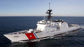 美國海岸防衛艦抵南韓 打擊北韓非法轉運