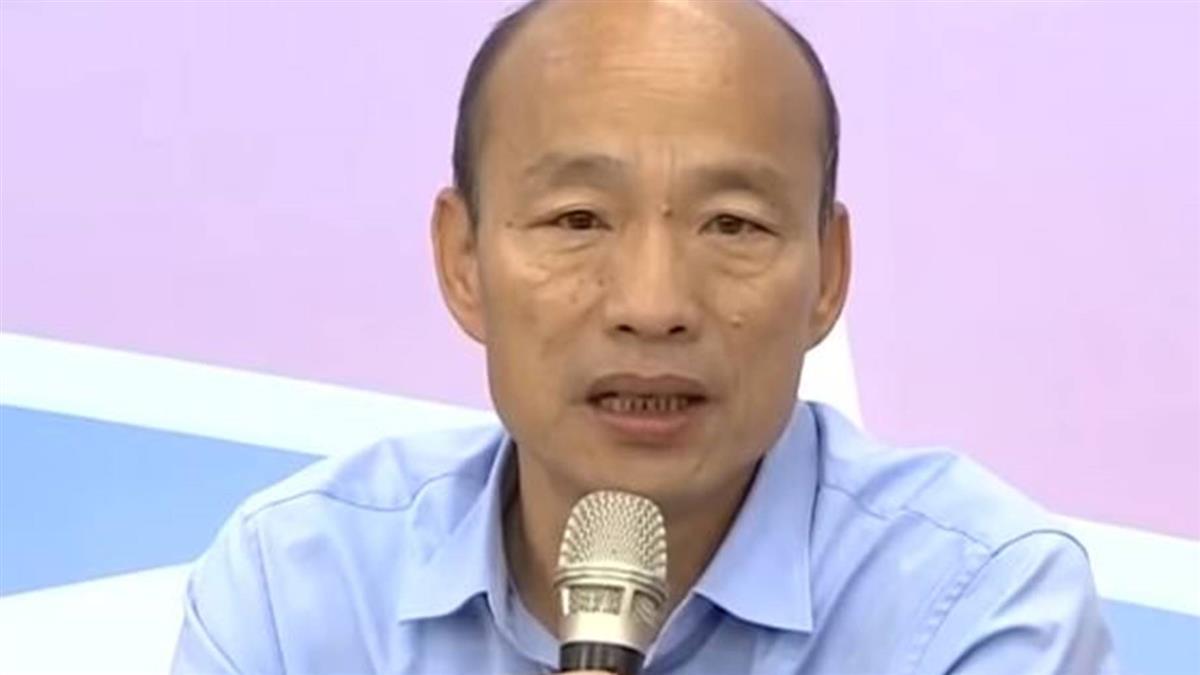 韓國瑜訪問香港 外媒聚焦政治效應