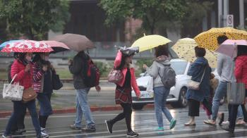 記得帶傘!今低溫下探13度 下周二迎好天氣