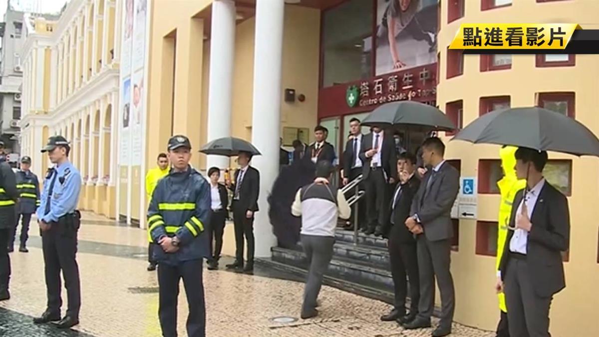 【獨家】韓出訪澳門 維安陣仗高規格 警:媲美元首級