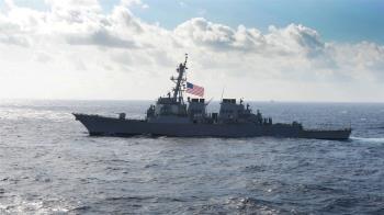 再派兩軍艦穿越台灣海峽 美軍:展現印太承諾