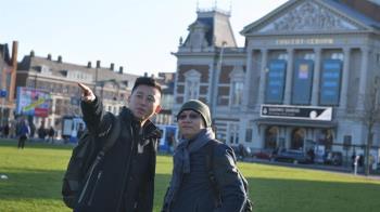 「讓新竹再升級」林智堅拚觀光 訪荷蘭取經