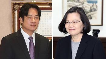 游盈隆公布最新民調!賴55.1%vs.蔡26%