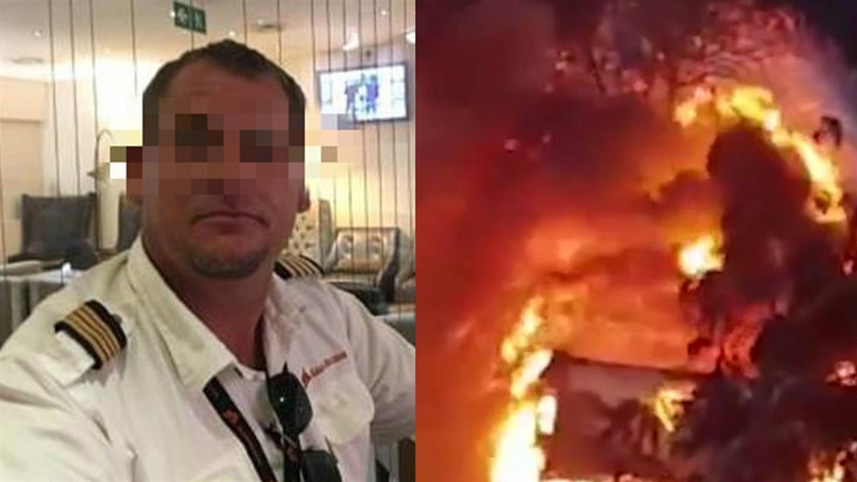 暴力男偷飛機 低空衝刺撞妻!夫陷火海亡