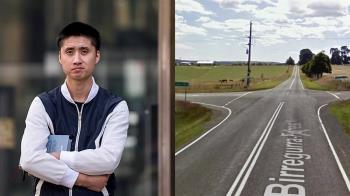 男看不懂英文路標 時速100km撞死澳洲人