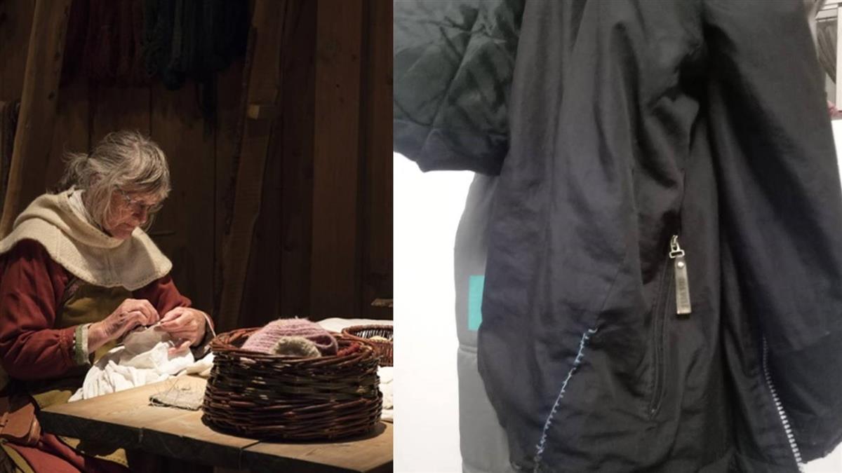 穿舊外套被嗆乞丐!孝男:縫補處是媽的愛