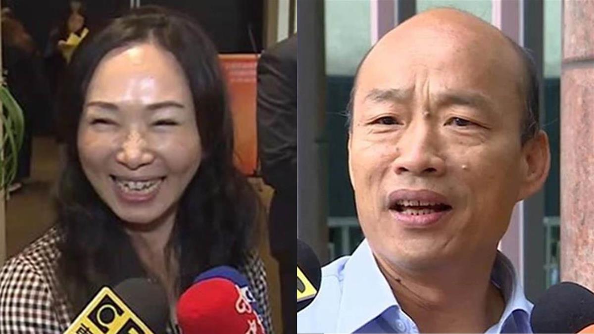 傳李佳芬補選高市長? 韓國瑜駁斥:醜化非常惡劣