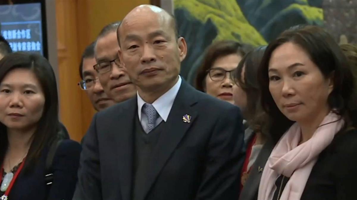 傳國民黨將徵召 韓國瑜再重申:2020不在我考量