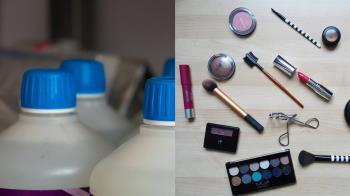 狠心後母下毒手!化妝品加清潔劑 遭女兒電眼抓包