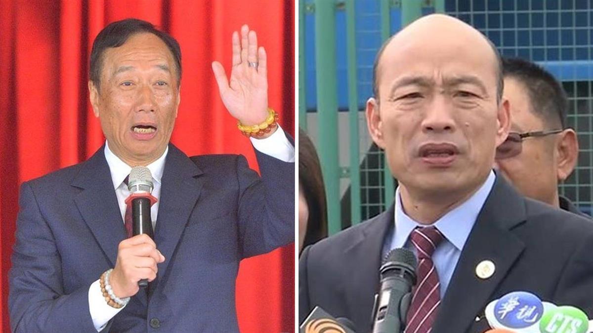 韓國瑜喊:大的在後頭!他爆郭台銘有意選2020